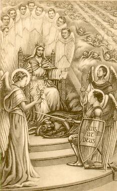 Marie généralissime des armées célestes