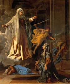Ste Francoise Romaine - Poussin